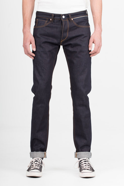 B-01 SLIM 15 oz. indigo selvedge BENZAK DENIM DEVELOPERS